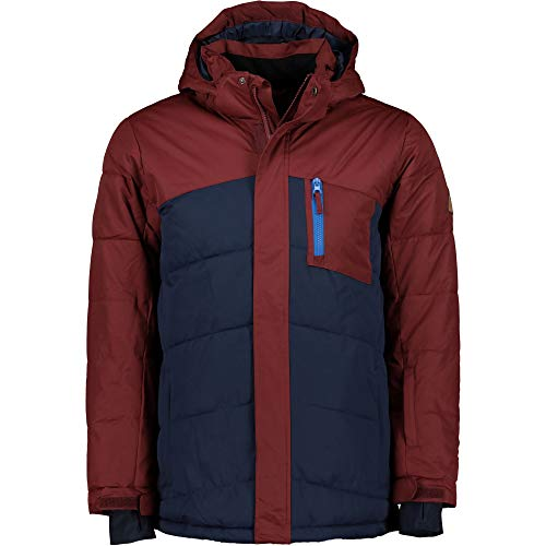 Firefly Kinder Tyson II Jacke, Red Wine/Navy Dark, 152
