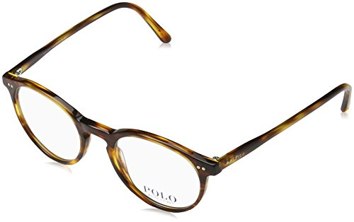 Polo Men's PH2083 Eyeglasses Havana Striped 48mm