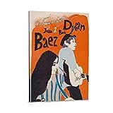 HJGHJ Bob Dylan Joan Baez Poster, dekoratives Gemälde,