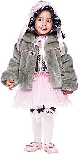 VENEZIANO Costume Carnevale da TOPINA Ballerina Vestito per neonata Bambina 0-3 Anni Travestimento Halloween Cosplay Festa Party 50736 3 Anni
