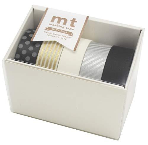MT Japanese Washi Masking Tape Gift box monotone 2 Tape Set MT05G008