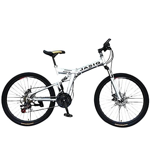 SFSGH Bicicleta de montaña, 24/26 Pulgadas 21 velocidades, Adultos, Velocidad Variable, Plegable,...