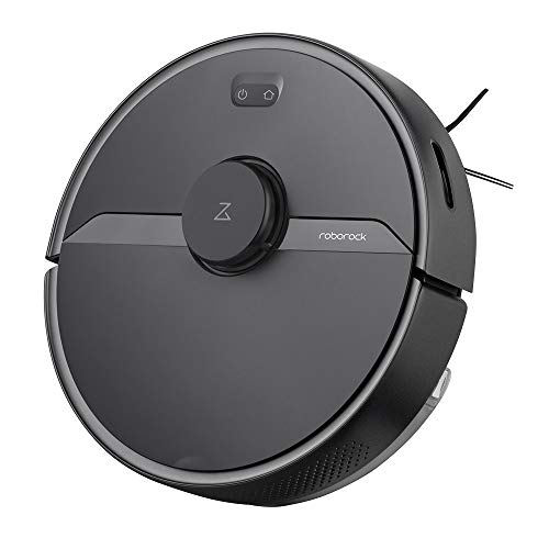 Roborock S6 Pure Robot Vacuum & Mop, Multi-Floor Mapping, LIDAR Navigation, No-go Zones, Selective Room Cleaning