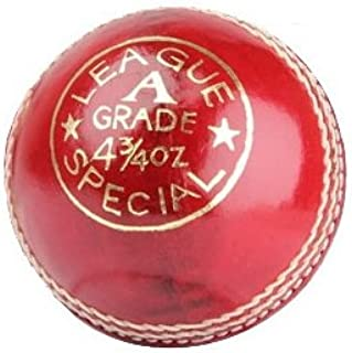 CA League Special Junior Red Cricket Ball 4-3/4(4.75 oz)