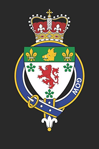 Gow: Gow Coat of Arms and Family Crest Notebook Journal (6 x 9 - 100 pages)