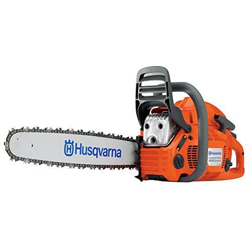 Husqvarna 455 Rancher 55.5cc 20 Inch 3/8 Pitch 3.49 HP Gas Chainsaw, Orange