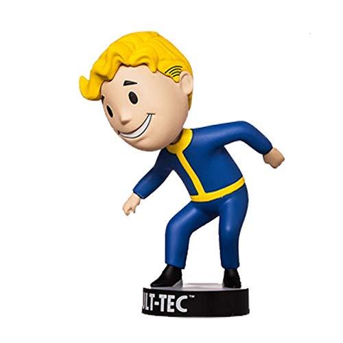 Yvonnezhang Figura de acción de PVC de Fallout Vault Boy Bobble Head Modelo Coleccionable Juguete 7 Estilos KT1777, A