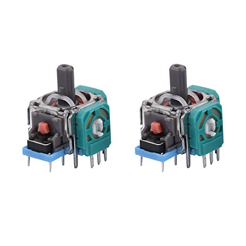 2×3D Playstation Analoge Joystick Module Sensor Vervanging Voor PS4 Joystick Controller
