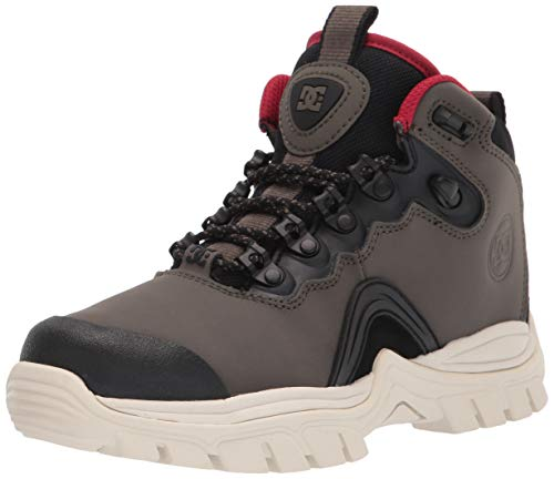 DC mens Cold Weather Casual Snow Boot, Olive/Black, 11 US
