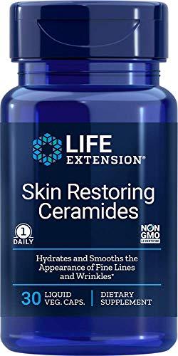 Life Extension Skin Restoring Ceramides, 30 Capsules (Pack of 3)