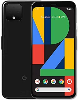 Google Pixel 4 G020M 64Gb 5.7 Inch Android (Gsm Only, No Cdma) Factory Unlocked 4G/Lte Smartphone - International Version ()