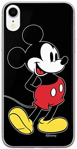 ERT GROUP Original & Offiziell Lizenziertes Disney Minnie & Mickey Maus Handyhülle für iPhone XR, Hülle, Hülle, Cover aus Kunststoff TPU-Silikon, schützt vor Stößen & Kratzern
