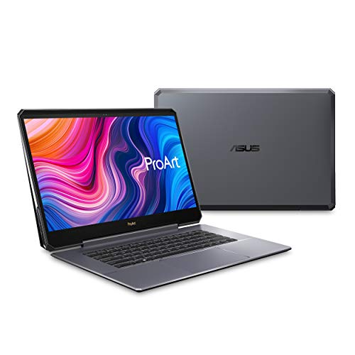 "ASUS ProArt Studiobook One Mobile Workstation Laptop, 15.6"" 4K UHD Pantone Display, Intel Core i9-9980HK, Nvidia Quadro RTX 6000, 64GB DDR4, 1TB PCIe SSD, Windows 10 Pro, Star Grey, W590G6T-PS99"
