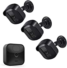 Blink Outdoor Camera Wall Mount Bracket,3 Pack Full Weather Proof Housing/Mount with Blink Sync Module Outlet Mount for Blink XT2/XT Indoor Outdoor Cameras Security System (3 Pack, Black)