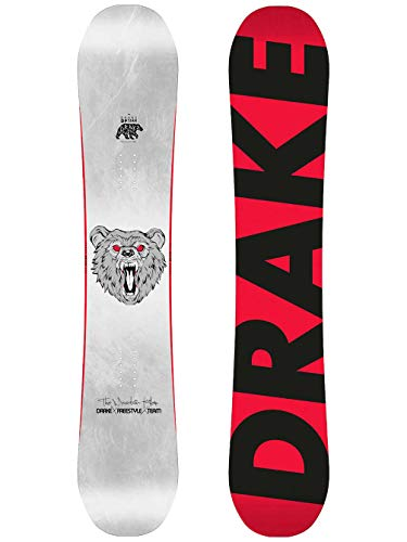 Drake Herren Freestyle Snowboard DF Team 156 2019