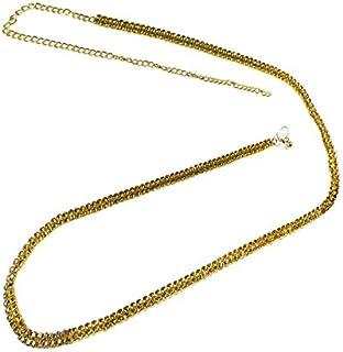 Pearl Paradise Silver Cubic Zirconia Belly Chain(Kamar Patta)