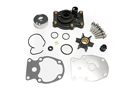 Johnson Evinrude OMC Water Pump Kit With Housing Replacement (1980-UP)20 25 30 35HP Sierra 18-3382 393630 0393630 Outboard Motor Parts