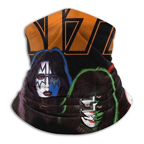 EOPRO Braga para el cuello, resistente al viento, banda de beso contra el polvo, 6 máscaras faciales anti-UV