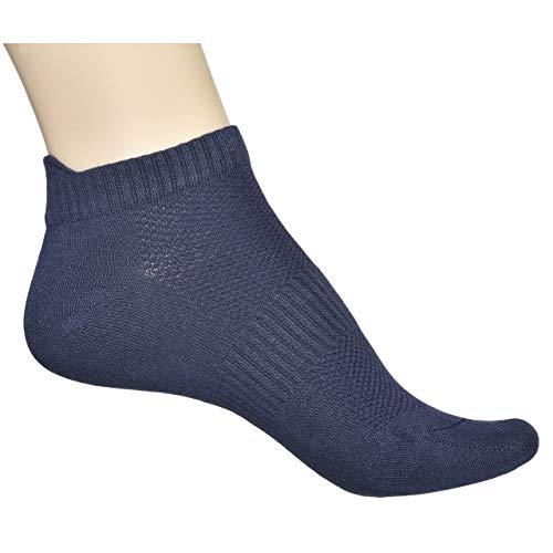ELYFER Unisex 4 Pack Thin Bamboo Ankle Socks, Bamboo Socks Pack for Men and Women, Comfort Blend Low Cut Bamboo Sneakers Socks, Casual Moisture Wicking Fiber Socks