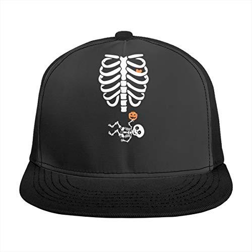 Mutterschafts-T-Shirt für Halloween. Halloween-Kostüm für Schwangere Cap Baseballmütze schwarz