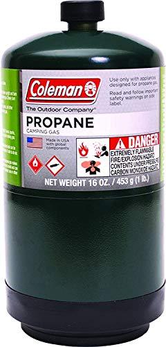 Coleman 333264 Propane Fuel Pressurized Cylinder, 16 Oz