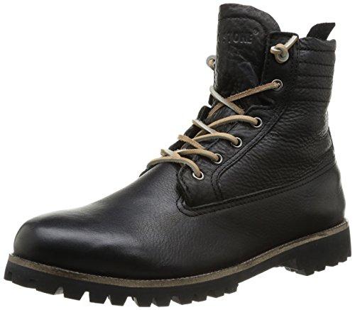 Blackstone Herren IM12 Desert Boots, Schwarz (Black), 42 EU