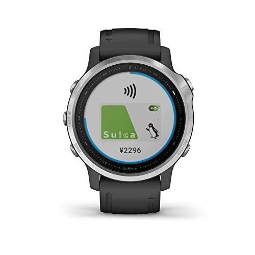 GARMIN(ガーミン) fenix 6S Black 音楽再生機能 マルチスポーツ型GPSウォッチ 最大9日間稼働 【日本正規品】