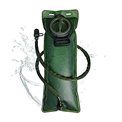 CKE Hydration Bladder 3 Liter Water Bladder for Hydration Backpack BPA Free Leak Proof Water Reservoir Hydration Pack Replacement for Hiking Biking Climbing Cycling Running