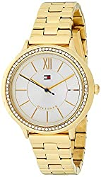 Quartz Watch with Gold-Tone-Stainless-Steel Strap 1781856