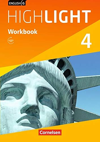 English G Highlight - Hauptschule / Band 4: 8. Schuljahr - Workbook mit Audio-Materialien: Workbook mit Audios online