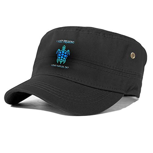 Sombrero de béisbol unisex de las Tortugas del amor de las cuatro estaciones del sombrero del sol de la moda no es fácil de distorsionar.
