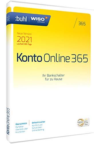 WISO Konto Online 365 (aktuelle Version 2021)|1 Gerät|1 Jahr|PC (WISO Software)