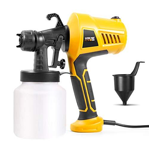 Pulverizador de pintura de 500 W, pistola pulverizadora eléctrica portátil, herramienta de...