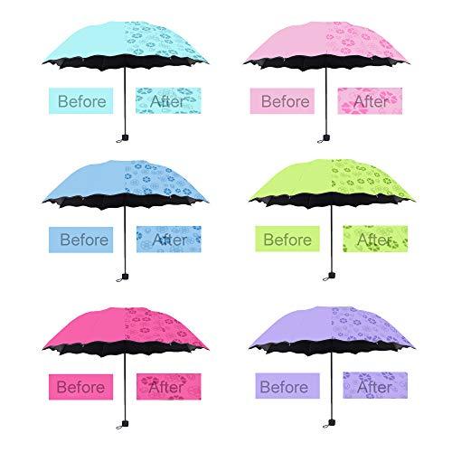 Umbrella Portable Umbrella Mini Manual Multicolor Girl Travel
