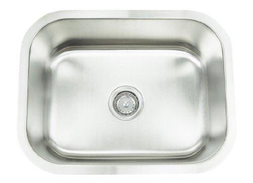 """Frigidaire FRG-2318 Gallery 23"""" Undermount Stainless Steel Kitchen Sink, Stainless Steel"""