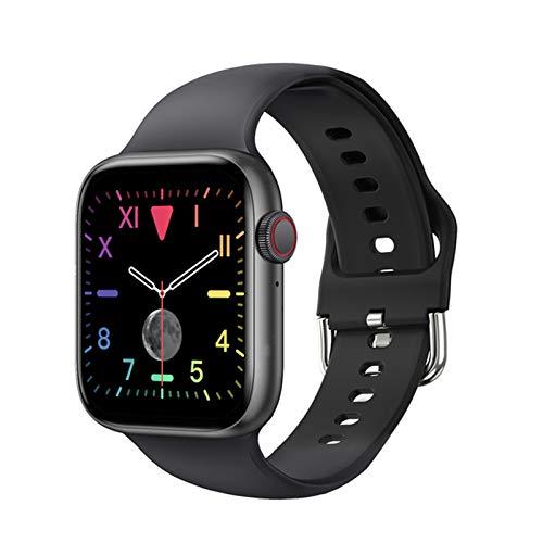 JXFF Smart Watch 2021 T800 Man Lady Bluetooth Call DIY DIAL 1.7 IP67 IP67 PK W26 W46 W56 Series 6 para iOS Android,A