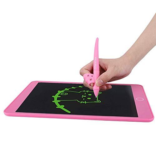 BOLORAMO Tablero de Escritura LCD, Tableta de Dibujo de Pintura Tableta de Escritura borrable con lápiz óptico para el Trabajo en el hogar Oficina de la Escuela para Listas de Notas