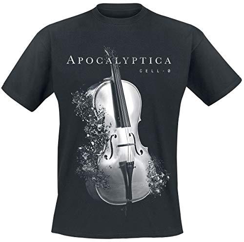 Apocalyptica Destroyed Cell-O Männer T-Shirt schwarz M 100% Baumwolle Band-Merch, Bands