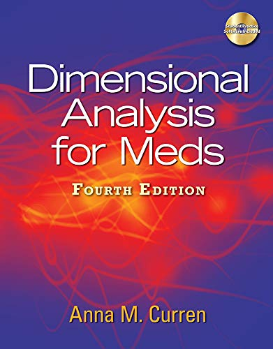 Dimensional Analysis for Meds, 4th Edition