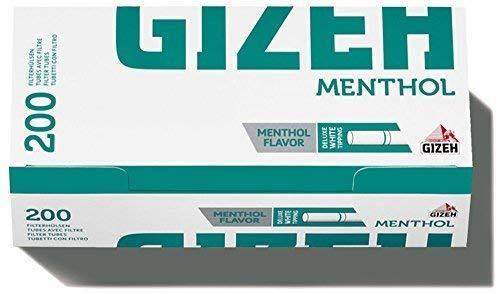 Giza mentho Tip Filtro manicotto (10X 200)