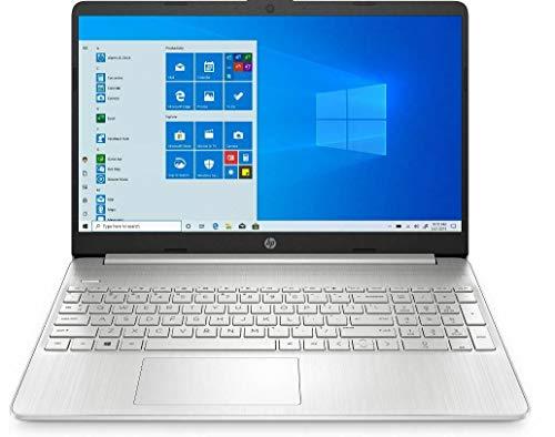 HP 15.6' FHD IPS Micro-Edge Touchscreen Laptop, Intel Quad-Core i5-1035G1 up to 3.6GHz, 12GB DDR4, 256GB PCIe NVMe SSD, Bluetooth, Wi-Fi, Webcam, USB 3.1-C, HDMI, Windows 10, 64GB ABYS Micro SD Card