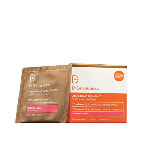 Dr. Dennis Gross Alpha Beta Glow Pad for Face, 20 Stück