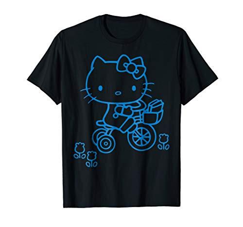 Hello Kitty Retro Bike Ride Tee Shirt