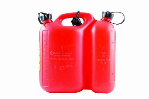 Unitec 73756 Doppelkanister für Kraftstoffe, 5 Liter und 3 Liter