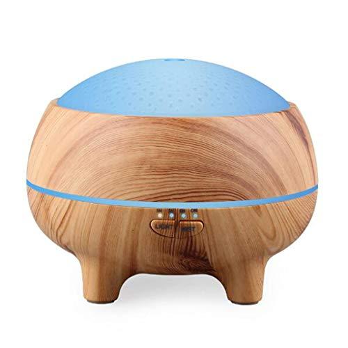 Bluetooth humidificador altavoz, Difusor de aroma 300ml purificador de aire de pulverización de los hogares, Altavoz Bluetooth, luz nocturna, Humidificador para dormitorio, oficina, yoga, sala