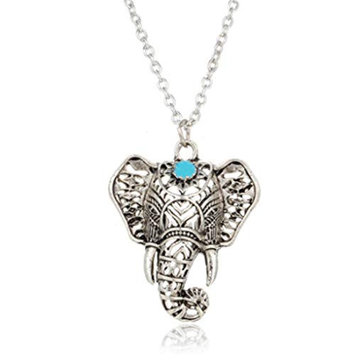 N-B Elephant Animal Lucky Elephant Necklace Everyday Jewelry for Women/Girls Comfortable and Environmentallybeautiful