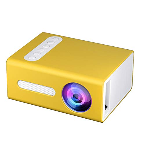 T300 Mini Projector,20W Mini Projector Portable LED Home Theater Lightweight and Portable Physical Resolution 320X240 Best Gift for Children