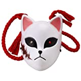 Demon Slayer Kimetsu no Yaiba Tanjirou Cosplay Mask Props (Sabito)