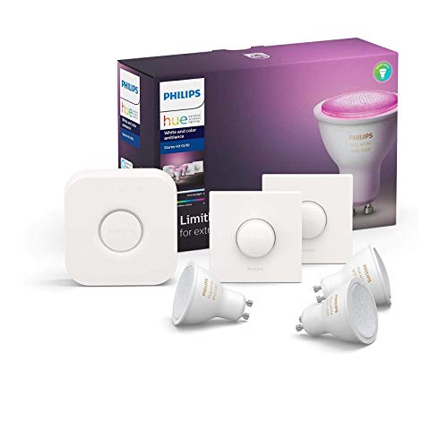 Philips Hue Kit de démarrage Ampoules LED Connectées White Ambiance & Color...