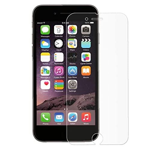 Protector de pantalla transparente de cristal de cristal HD de temperamento 5.5 pulgadas Protector de pantalla de teléfono compatible con iPhone 6 Plus